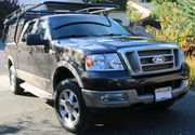 2005 Ford F-150 King Ranch Crew Cab Pickup 4-Door